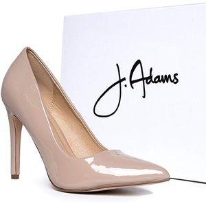 J. Adams Nude High Heels Pumps
